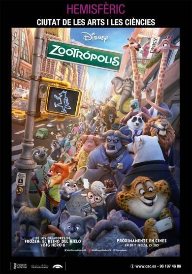 'Tardes Disney' con la película 'Zootrópolis