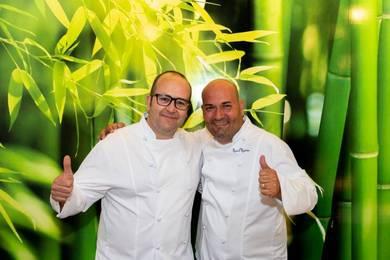Raul Resino y Vicente Patiño