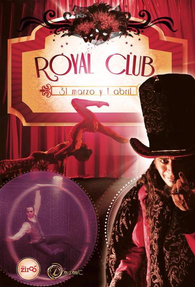 'Royal Club Cabaret' en la Sala Zircó este fin de semana