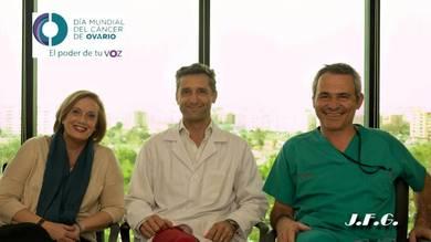 Paloma Luis, Dr. Lucas Minig yDr Santiago Domingo