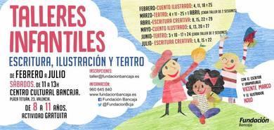 Talleres infantiles en Fundación Bancaja