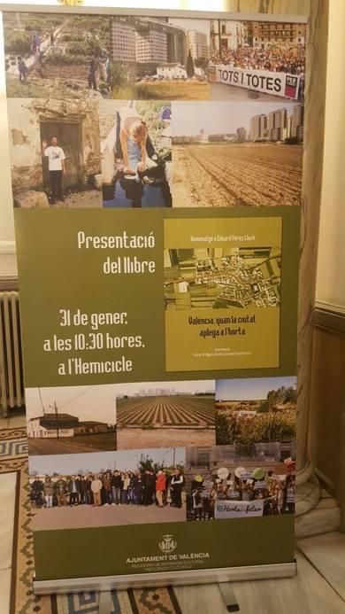 Cartel de la presentación