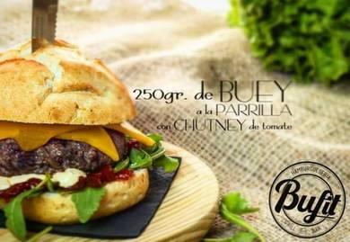 Bufit, posiblemente la mejor hamburguesería de Ruzafa - Foto: buffit