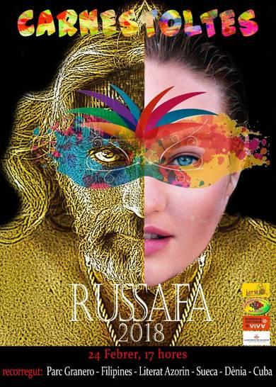 Cartel carnavales Russafa