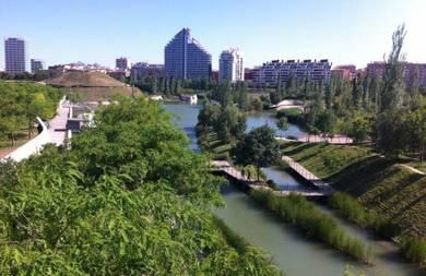 Cómo Valencia crece en espacios verdes