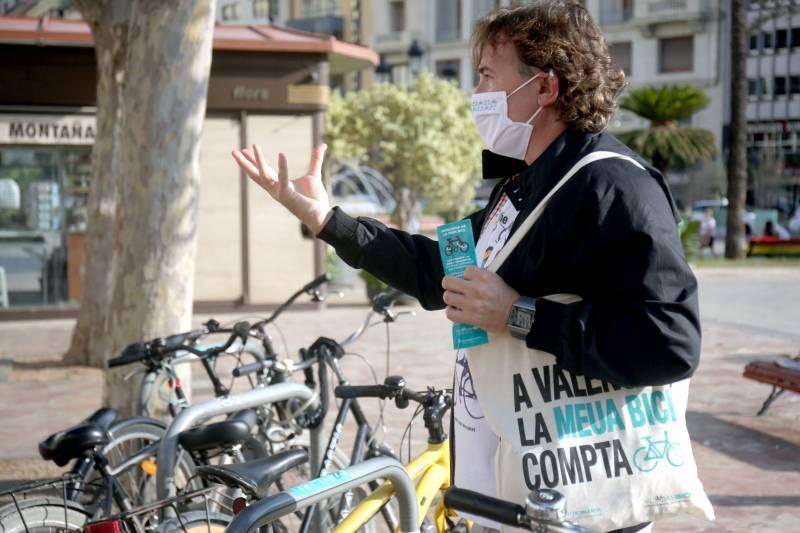 Presentación Campaña Bicis Ayuntamiento./ EPDA