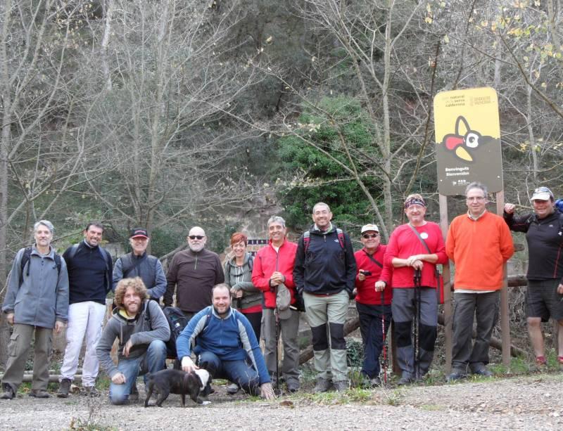 El grupo de la Asociación Cultural Cartuja de Valldecrist. FOTO VIU