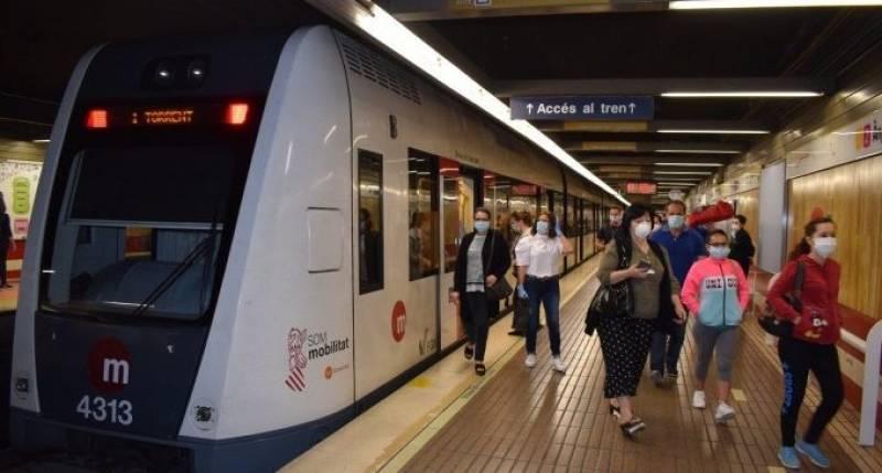 Imagen de archivo metro València./ EPDA