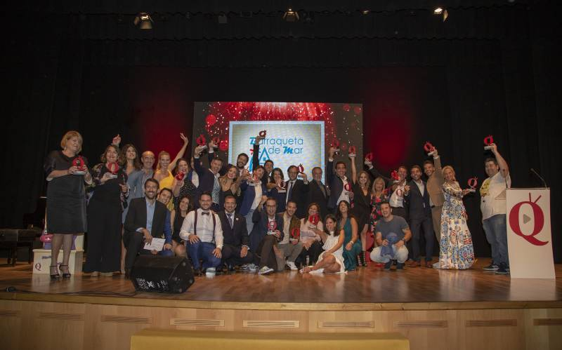 Gala de los Premios Aquí TV 2020.