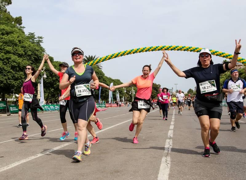 Participación femenina Volta Peu Valencia