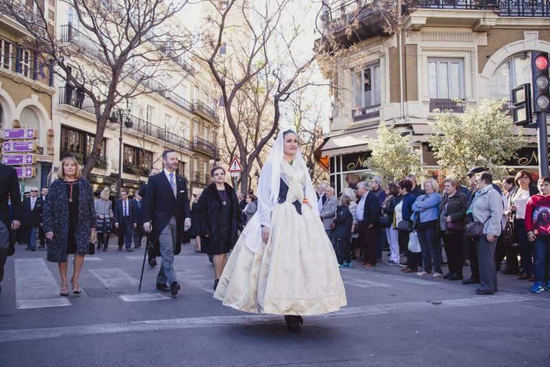 Momento de la procesión cívica 2018