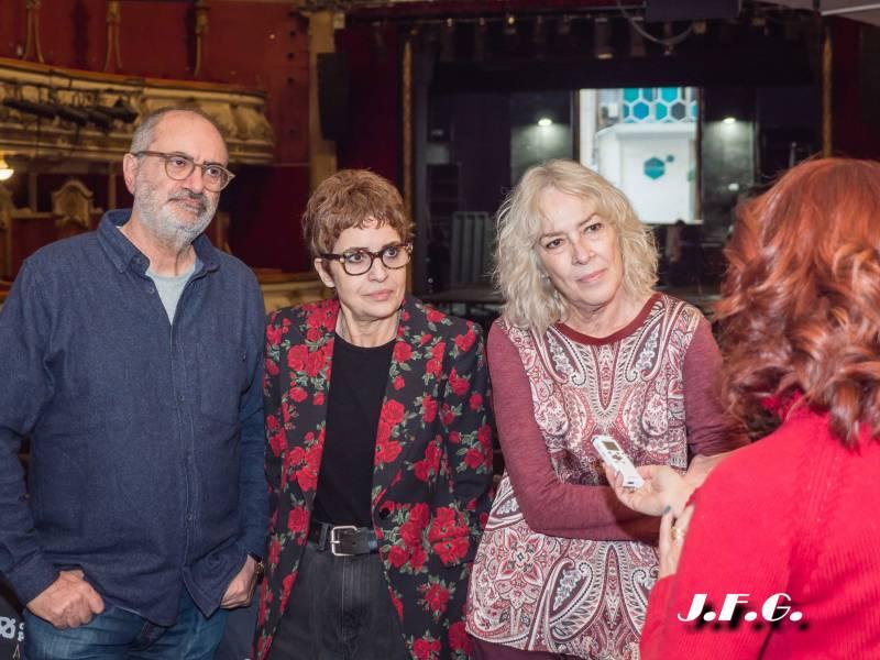 Joaquín Climent, Adriana Ozores y Susi Sánchez en el Teatro Olympia