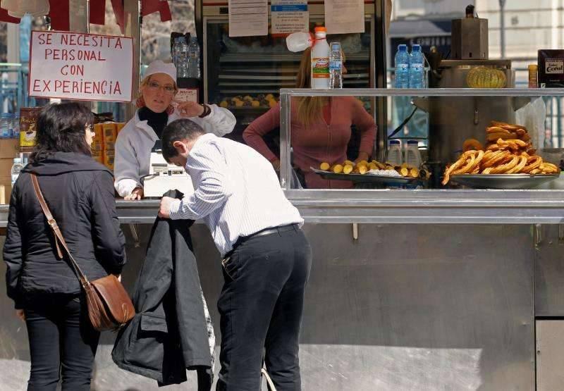 Bunyoleria i xurreria ambulant a València. EPDA