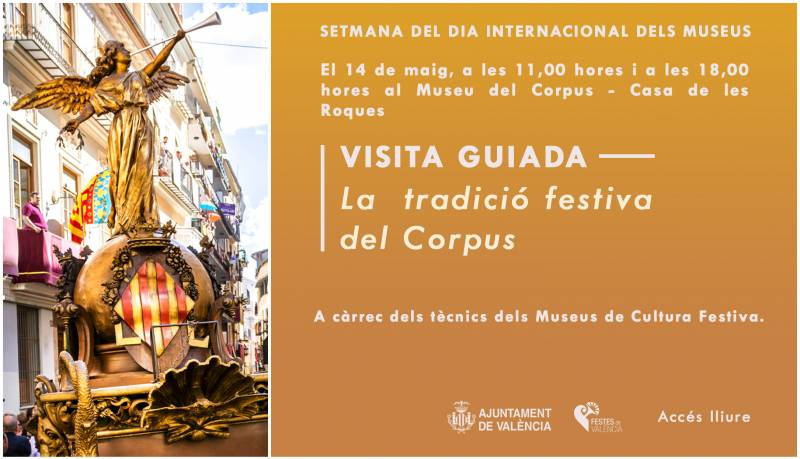 Dia Internacional del Museus. Banner Corpus