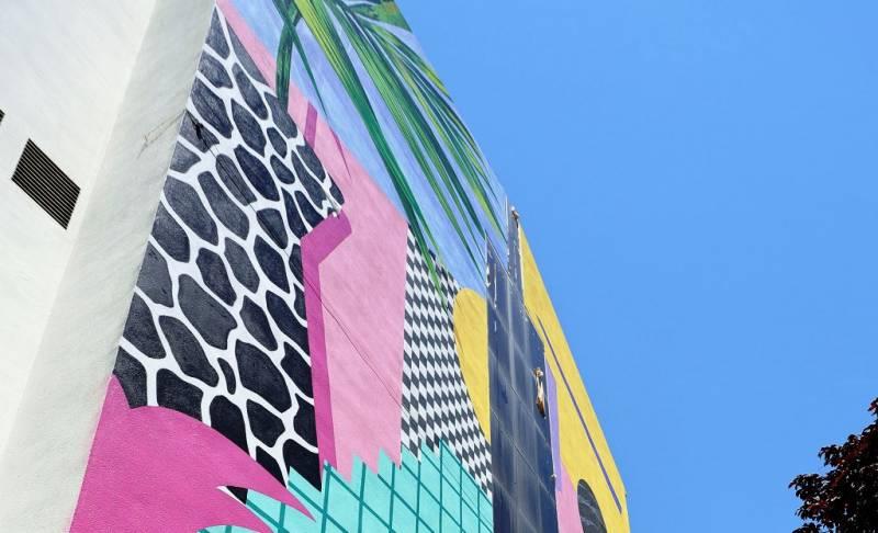 El mural del projecte