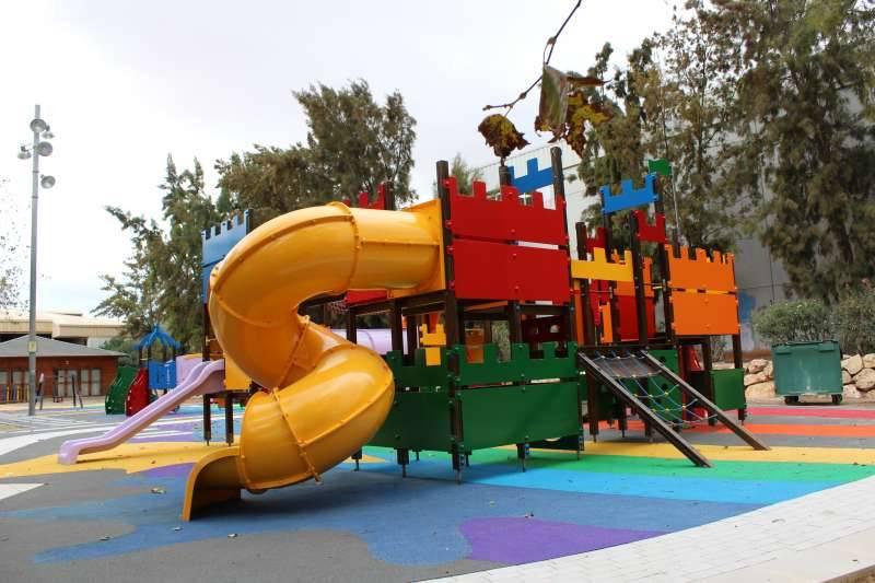 Parque infantil. EPDA.