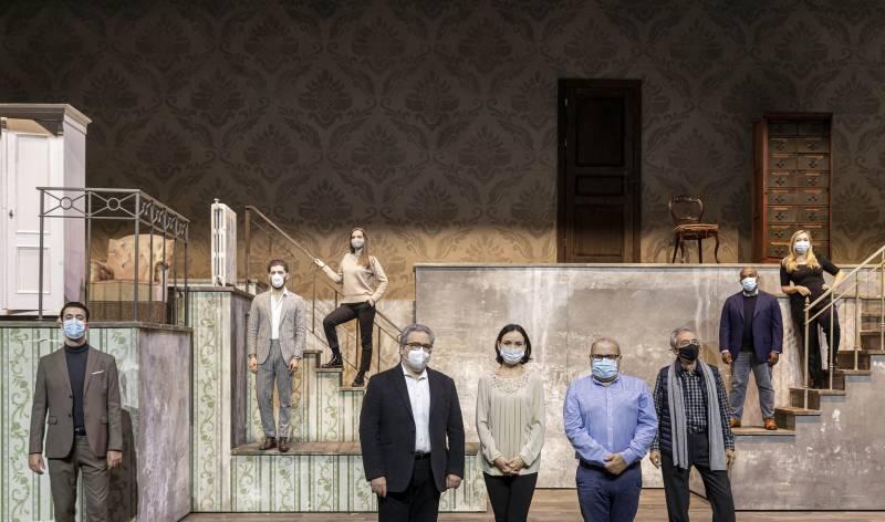 Cartel de la actuación de Carlos Latre