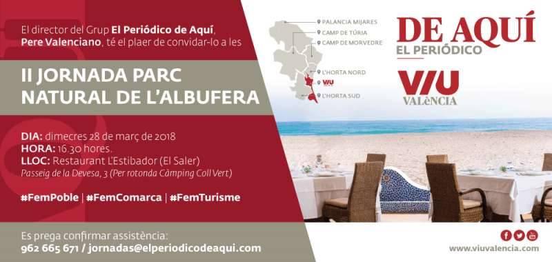 Invitación Jornadas Albufera