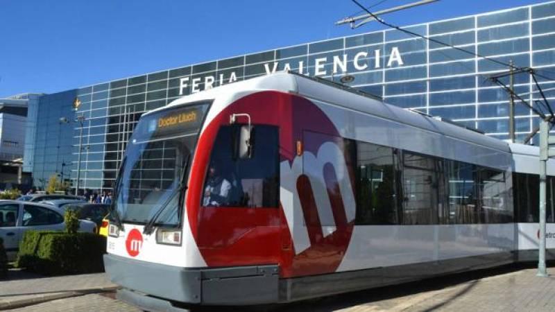 Imagen de archivo metro a Feria València