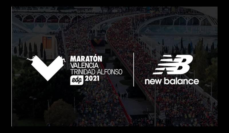 Cartel del Maratón València Trinidad Alfonso. EPDA