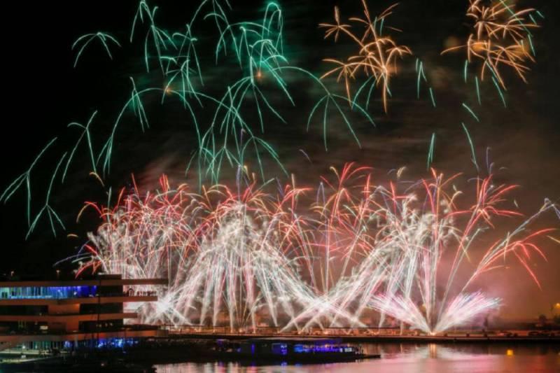 Imagen de archivo fuegos artificiales València./ EPDA