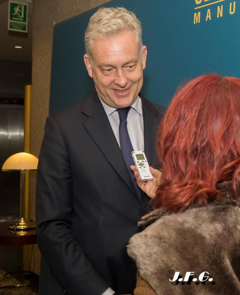 Simon Manley CMG Embajador del Reino Unido en España