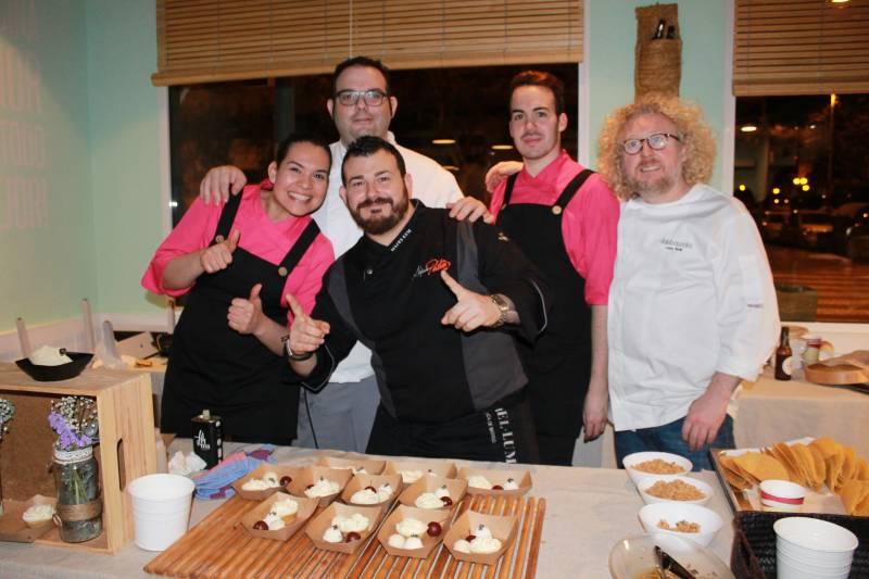 El equipo de Paco Roig con Platero y Rodi//E.C.