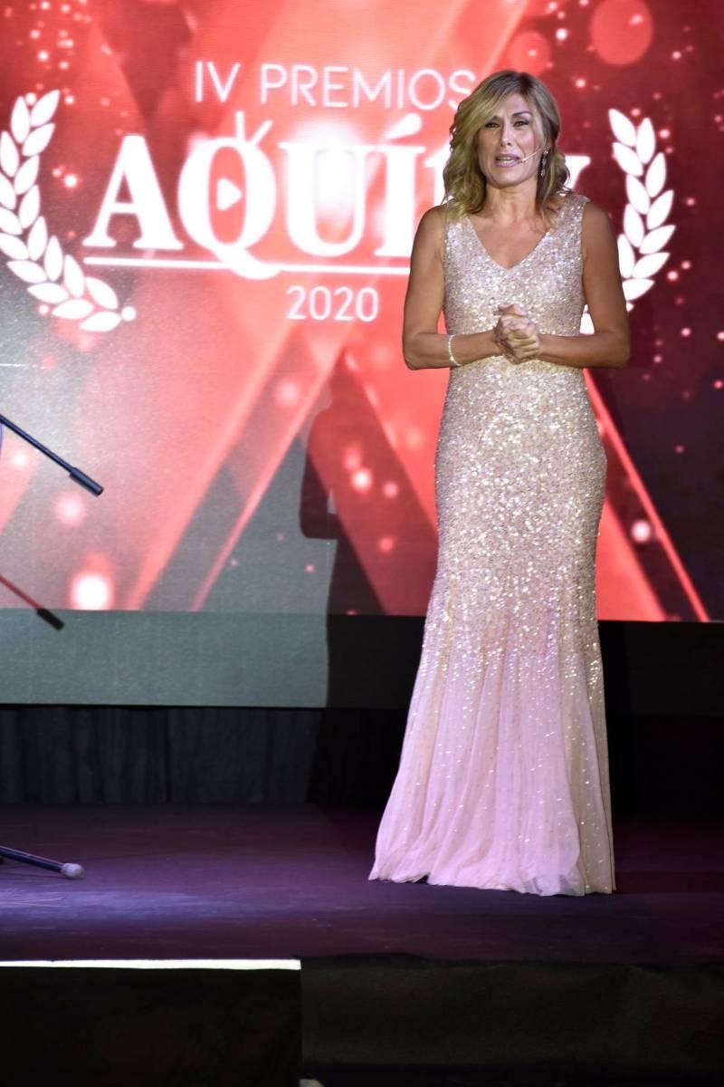 Gala de los Premios Aqu� TV 2020.