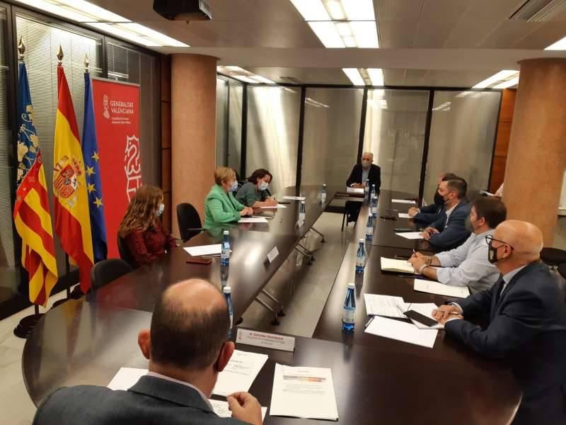 Reunión con Ana Barceló.EPDA