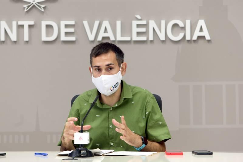 El vicealcalde i portaveu municipal, Sergi Campillo. EPDA