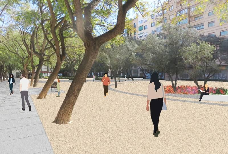 Parque Manuel Granero Russafa./ EPDA