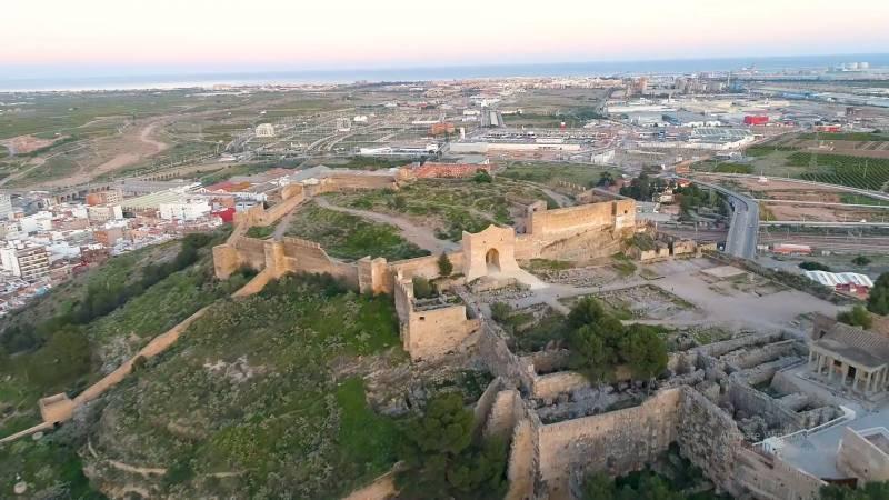 Castillo de Sagunto. EPDA.