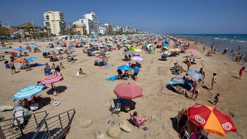 Imagen de archivo playa de Gandía,/ EPDA