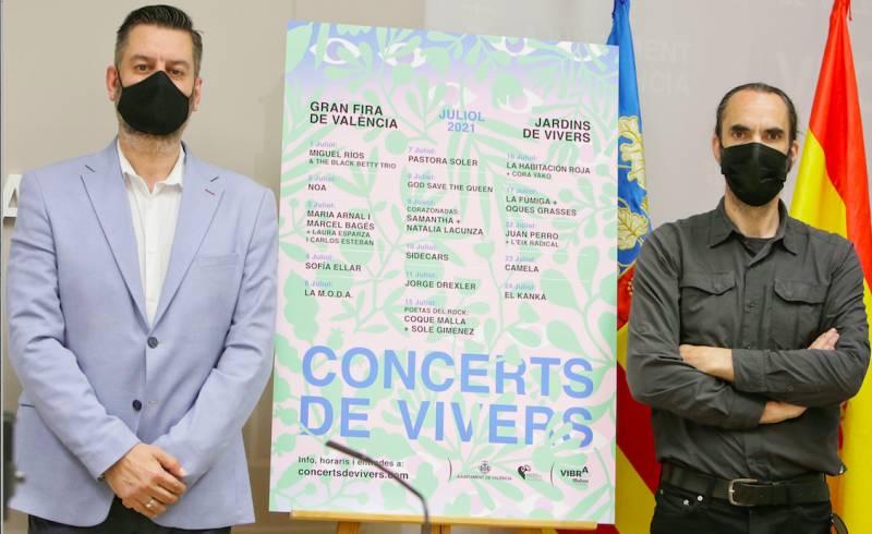 Presentación concerts. EPDA