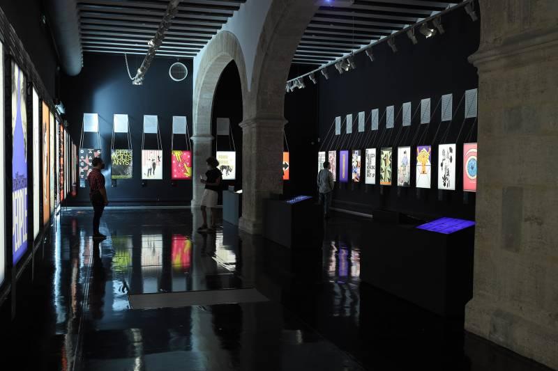 La Nau de la Universitat de València prorroga l?exposició sobre la crisis del coronavirus a través de l?obra  de 50 creadors valencians./ EPDA