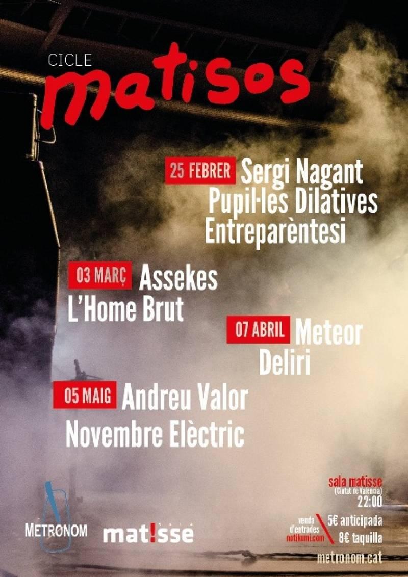 Cartel del concierto en beneficio por la educación en Senegal : : Sala Marisse