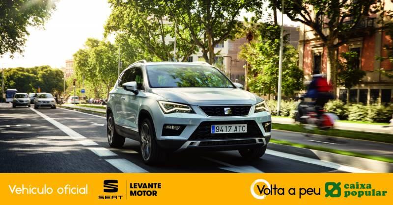 Seat vehículo oficial Volta a Peu