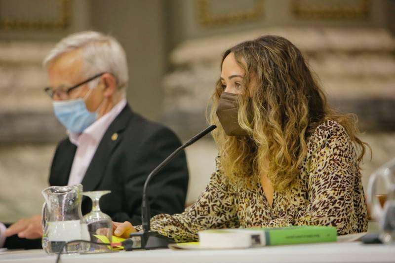 Joan Ribó en la presentación de la revista aGOa./ EPDA