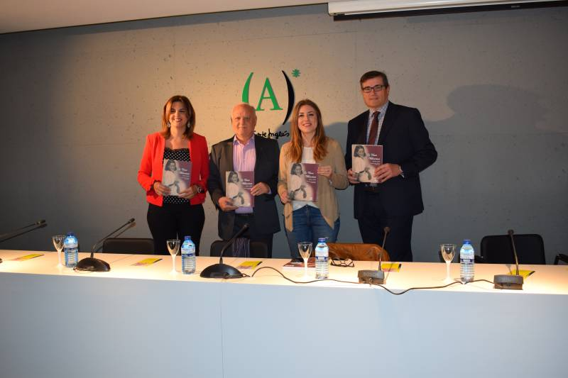 De izquierda a derecha, Sandra Gómez, Rafael Solaz, Maria Such y Pau Pérez Rico
