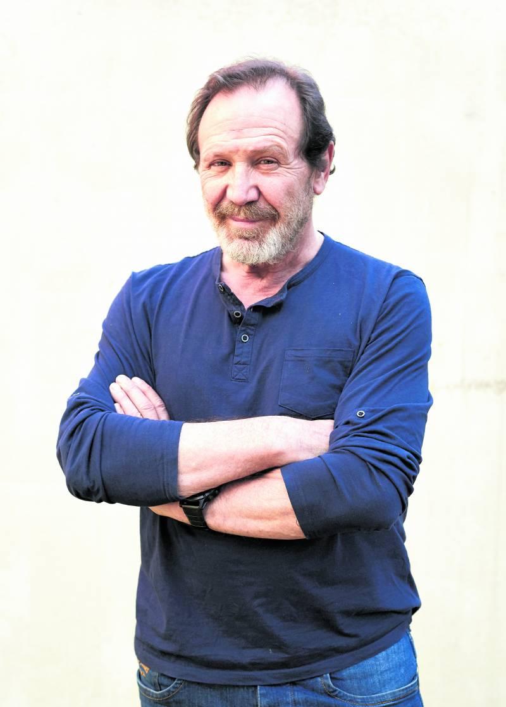 Juan Gea, actor de El Ministerio del Tiempo. / epda
