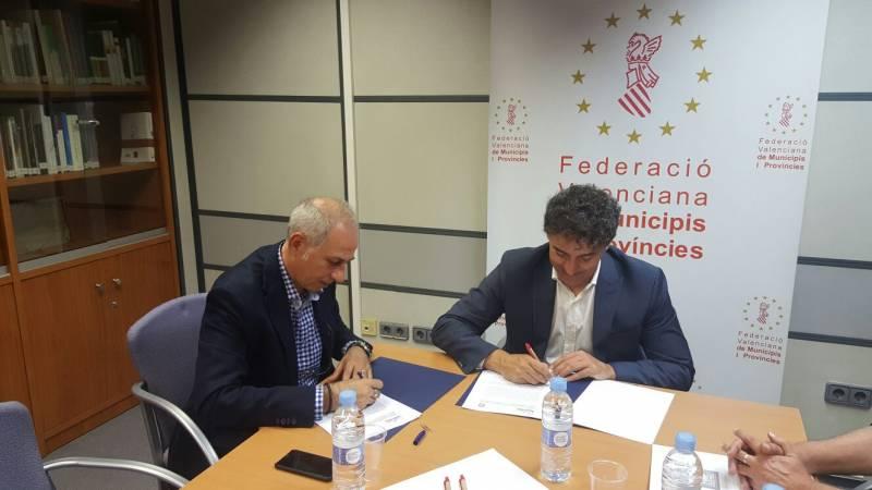 Reunión FVMP y Delegado del Gobierno.