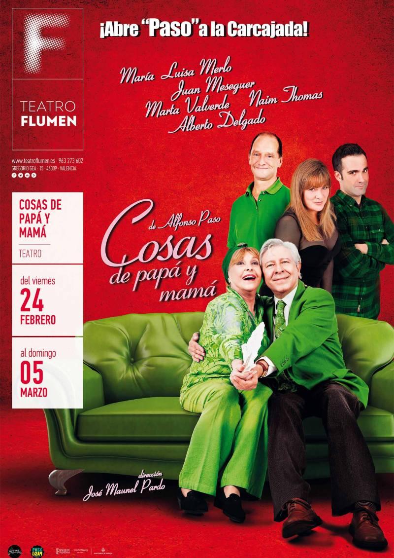 Cosas de Papá y Mamá en Teatro Flumen