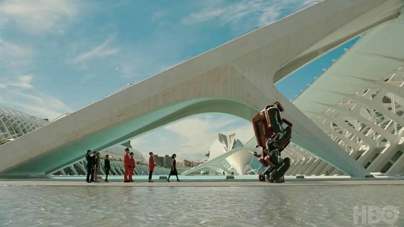 Imagen de archivo Escena de Westworld, Ciudad de las Artes y las Ciencias./ EPDA