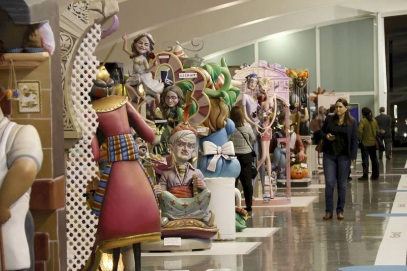 Imagen de archivo de la Exposición del Ninot. EPDA