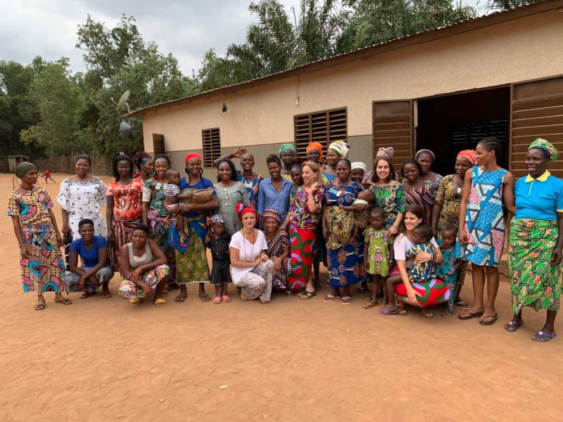 Trabajadoras de CUMEES for Africa./ EPDA