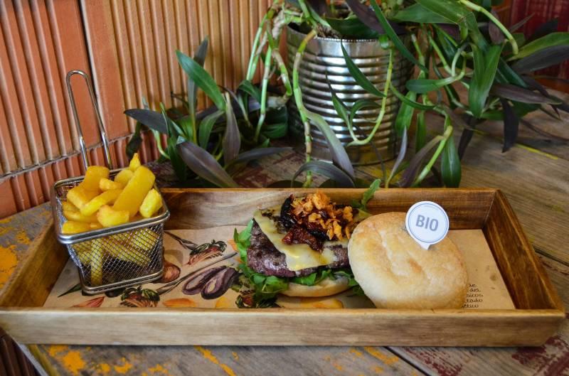 BIOPARC Café - hamburguesa