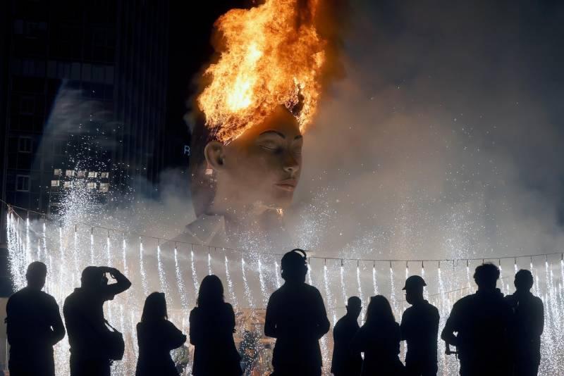Fuegos Artificiales Quart de Poblet./ EPDA