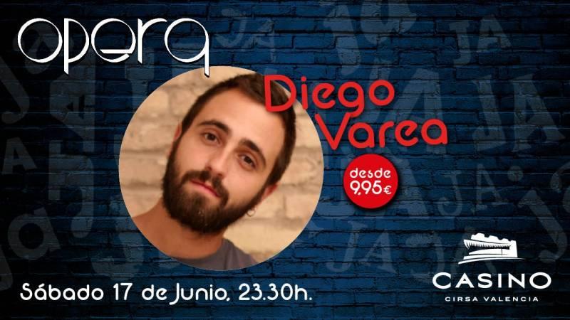Diego Varea en Casino Cirsa Varea