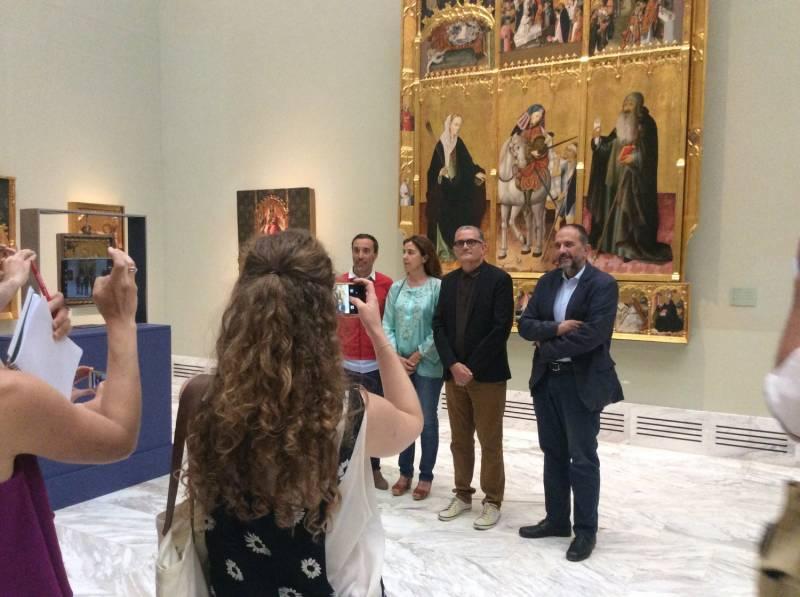 Rueda de prensa, Bellas Artes e IVAM