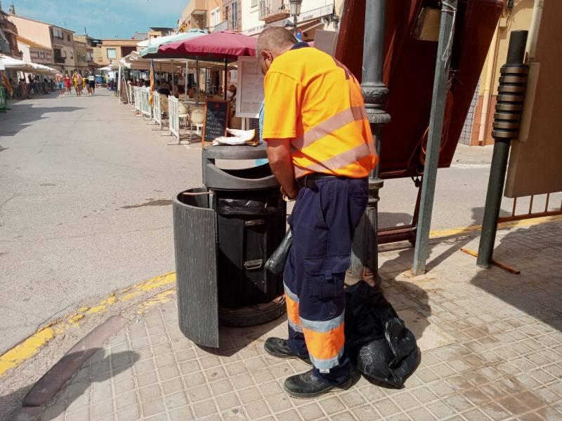 Servici de neteja en El Palmar. EPDA